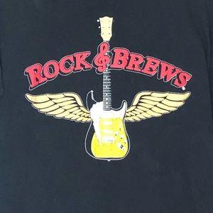 Gildan Shirts - ROCK & BREWS GUITAR DIVE BAR & GRILL CASINO SHIRT
